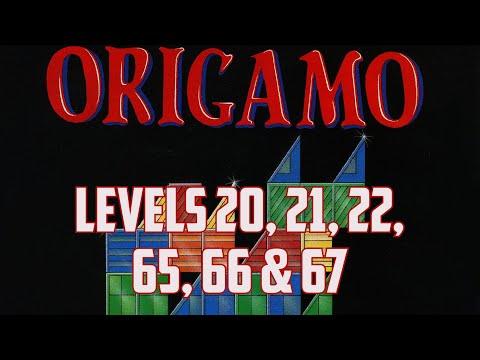 Origamo (1994) - PC - Levels 20, 21, 22, 65, 66 & 67