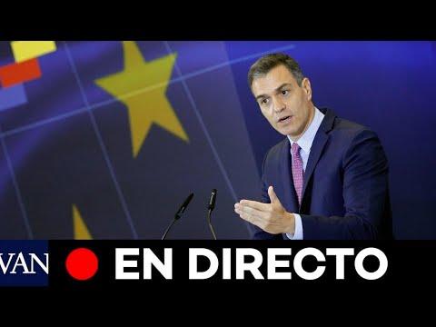DIRECTO: Pedro Sánchez presenta el plan para la recuperación de la economía en Pamplona