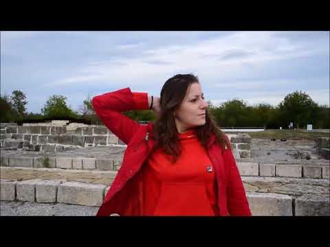 Nina wetlooklegging sightseeing Veliki Preslav Shumen