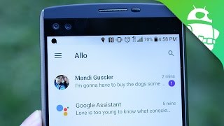 Google Allo Quick Look!