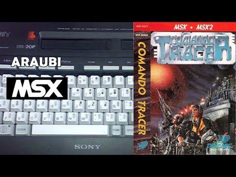 Comando Tracer (Dinamic, 1988) MSX [507] Walkthrough