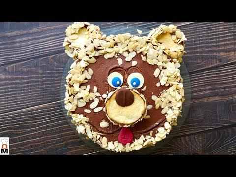 Торт «Мишка» (Сметанник из Моего Детства)