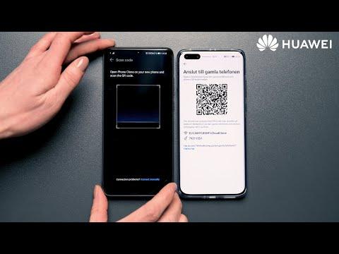 HUAWEI - Hur du överför innehållet på din gamla telefon till din nya med PhoneClone.