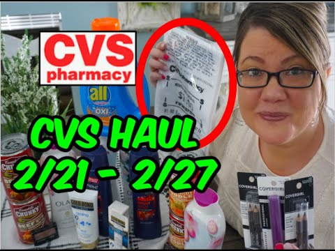 CVS HAUL (2/21 - 2/27)   AWESOME MONEYMAKER, LOTION & MORE!! 🔥
