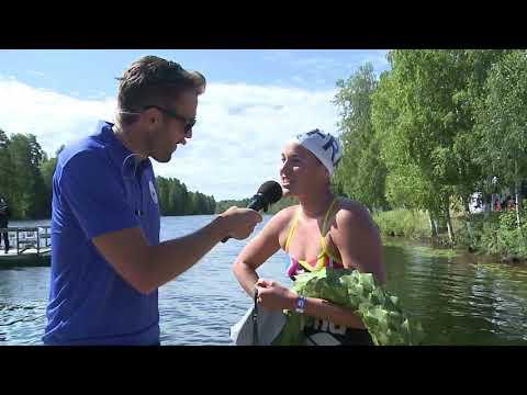 Segerintervju Vansbrosimningen 2018, dam