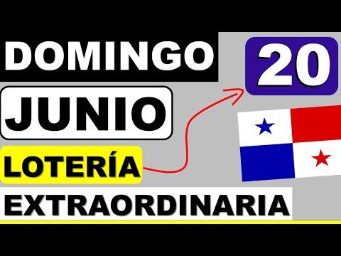 Resultados Sorteo Loteria Extraordinaria Domingo 20 de Junio 2021 Loteria Nacional Panama Que Jugo