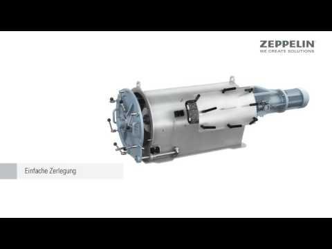 Zeppelin Siebmaschine | Reinigung