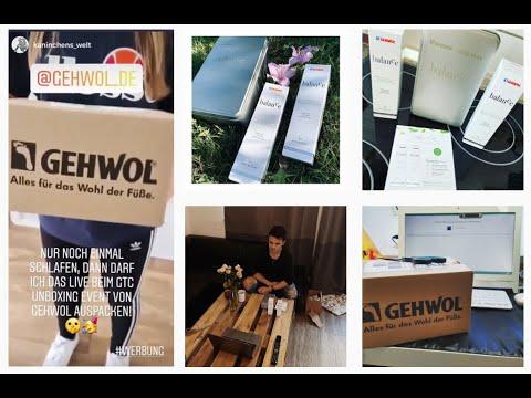 3-2-1-Zoom: Erstes #GTCUnboxing-Event für den GEHWOL-Testerclub!
