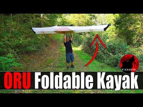 Foldable Kayak? - ORU Bay St Kayak Review