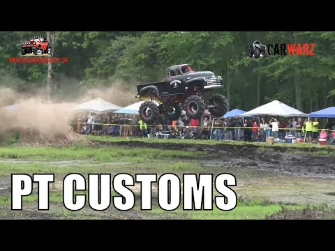 RT CUSTOMS Chevy Mega Truck At Perkins Spring Mud Bog