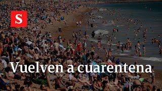 Nueva ola: seis países que han tenido que volver a cuarentenas   Videos Semana