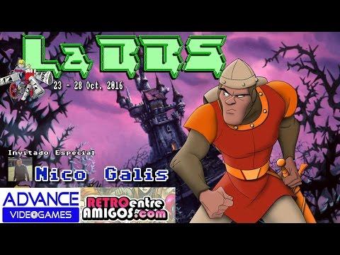 Noticias y Actualidad 23-28 Oct. 2016 con Nico Galis (Retro entre Amigos/Advance VideoGames) La BBS