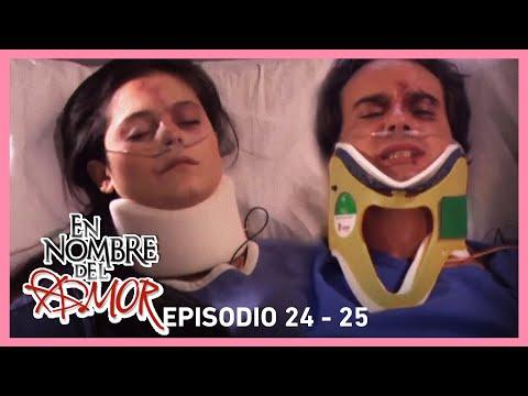 En nombre del amor: Paloma e Inaki sufren un accidente   C-24 y 25   Tlnovelas