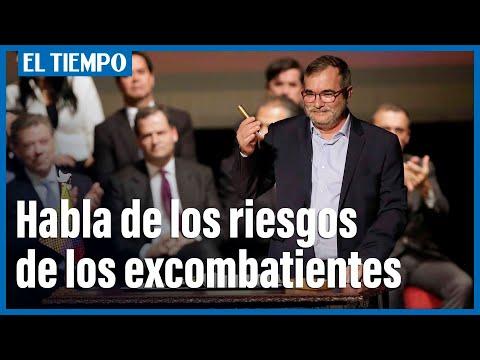Rodrigo Londono, exjefe de Farc, habla de los riesgos que han enfrentado los excombatientes