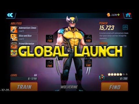 Wolverine - Global Launch | Marvel Strike Force
