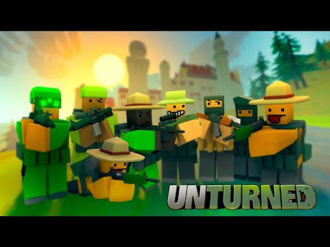 🔴UNTURNED Learning the ropes to survive (Xbox Series X)🔴