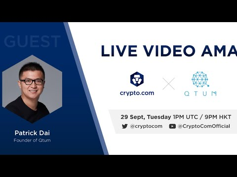 [Qtum] - Live Video AMA with Patrick Dai, Founder
