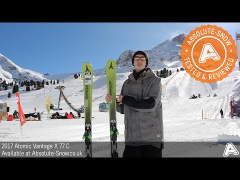 2016 / 2017 | Atomic Vantage X 77 C Skis | Video Review