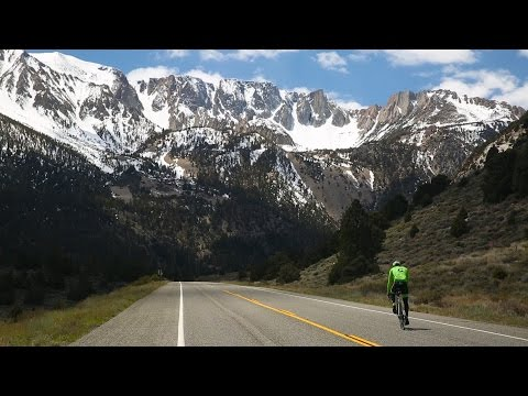 Toms Skujins Trains for Tour of California in Mammoth Lakes