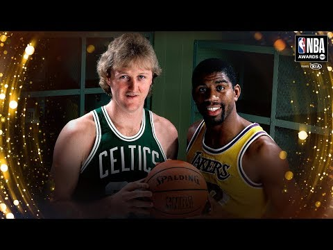 Larry Bird & Magic Johnson Receive the NBA Lifetime Achievement Award | 2019 NBA Awards