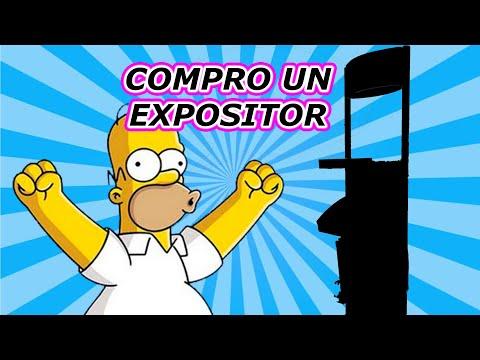 COMPRO UN EXPOSITOR DE JUEGOS / CONSOLAS