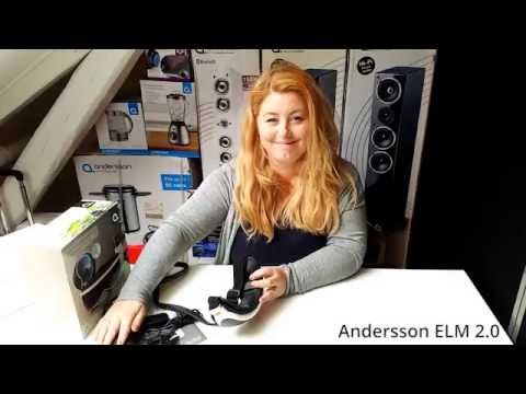 Unboxing - Øyemassasje. Andersson ELM 2.0