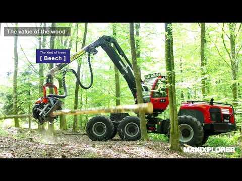 Komatsu Forest - IoT i skogen