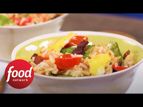 Fried Rice with Bacon | Food Network