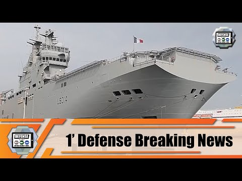 French Navy helicopter carrier Tonnerre departs for Lebanon to help Lebanese people 1' Defense News