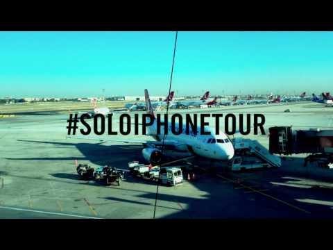 Seba Franco y Jirafa Sánchez: #SoloiPhoneTour en Barcelona