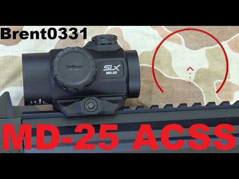 Primary Arms MD-25 ACSS Review By Brent0331