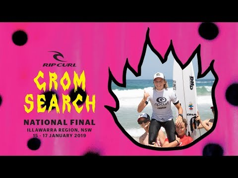 Rip Curl #GromSearch National Final 2018/19