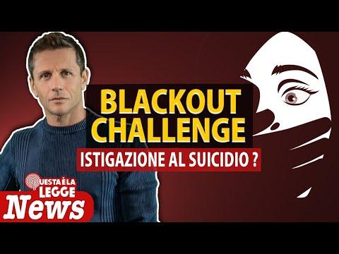 BLACK OUT CHALLENGE: istigazione al suicidio?   Avv. Angelo Greco