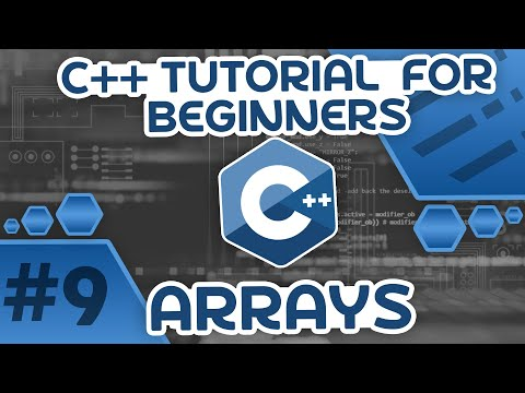 Learn C++ With Me #9 - Arrays
