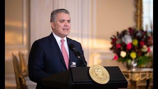 Presidente Duque en el foro virtual 'Retos y Oportunidades para la Inversión Extranjera en Colombia'