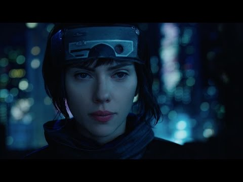 """Ghost in the Shell (2017) - """"High Rise Jump"""" Clip"""