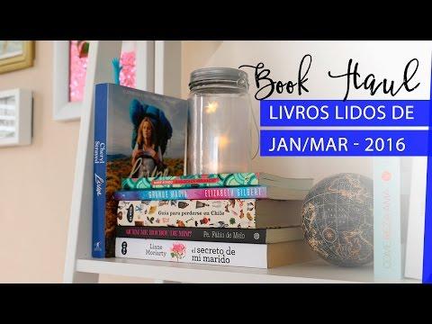 Livros Lidos & Book Haul - Jan/Mar 2016 | Pigmento F