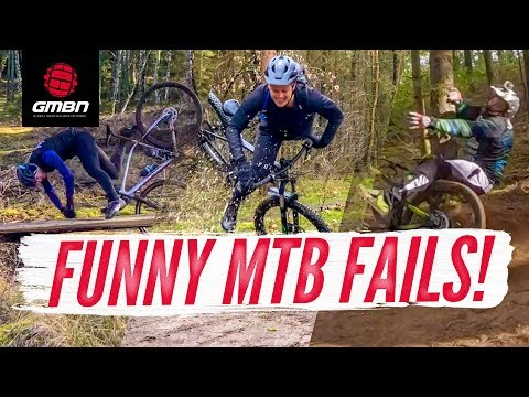 The Funniest Mountain Bike Fails Of The Month | GMBN's March Fails & Bails Reel