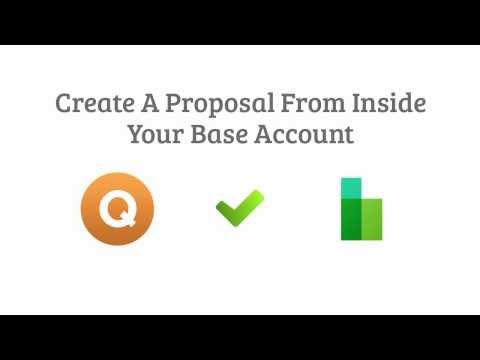 Quote Roller and Base CRM Integration Video