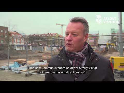 Henric Blomsterberg – hotellägare, fastighetsägare och möbelhandlare – om ombyggnaden av Stora torg