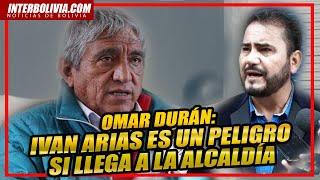 ????OMAR DURAN: DENUNCIA HECHOS DE CORRUPCIÓN POR EL EX MINISTRO IVAN ARIAS HOY CANDIDATO A LA ALCALDÍA