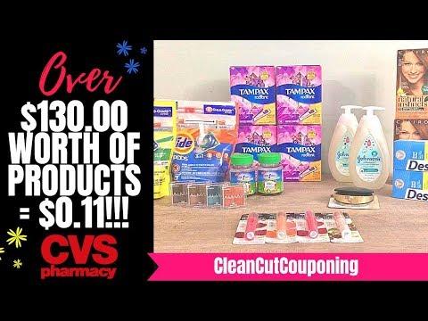 CVS COUPONING LOOT (10/14-10/20) HOT Cosmetics Deals, Baby Deals, Tide & Tampax & More!