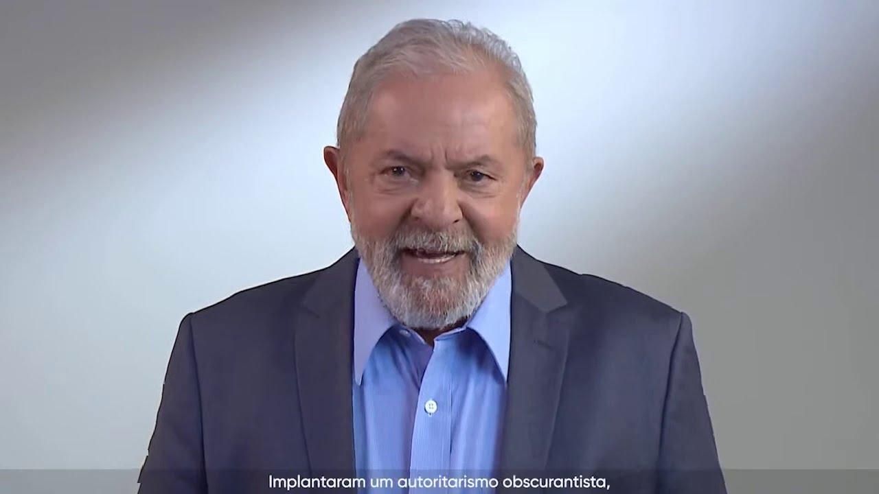 7 de setembro ex-presidente Lula fala ao Brasil