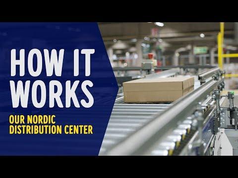 Bag kulisserne: Se hvordan robotter styrer vores KÆMPE lager