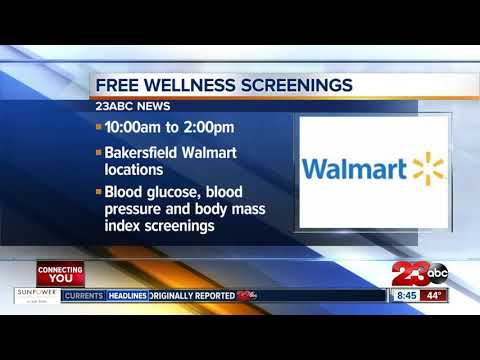 connectYoutube - Walmart offers free health screenings on Saturday