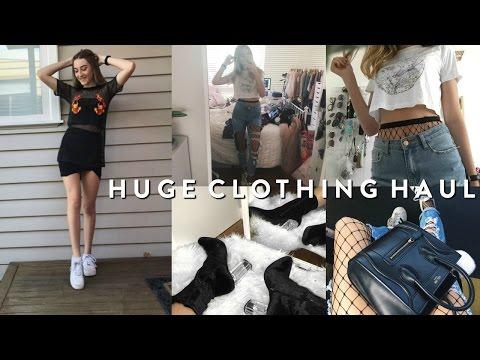 HUGE TRY-ON CLOTHING & SHOE HAUL 2017 // INSTAGRAM BADDIE TRENDS