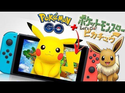 ¡FILTRACIÓN! INTEGRACIÓN de Pokémon GO en los NUEVOS Pokémon Let's GO PIKACHU y EEVEE!!! [Keibron]