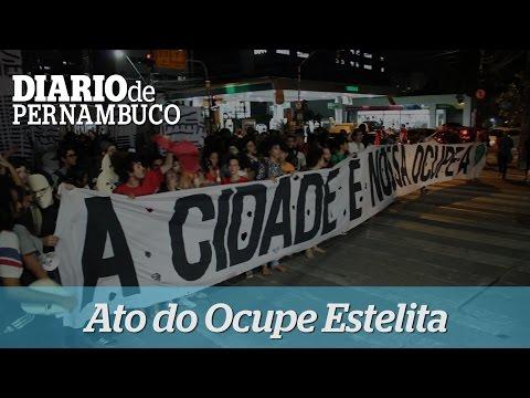Manifestantes tomam �s ruas em defesa do Estelita