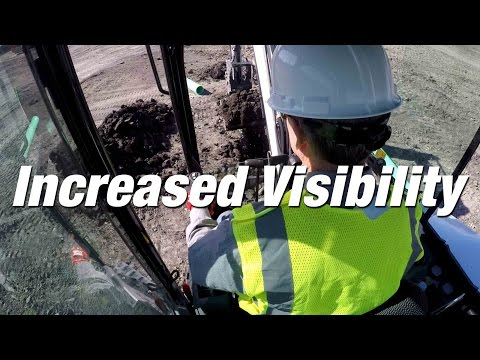 R-Series Excavators: Increased Visibility