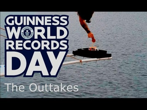Highest Bungee Dunk World Record - The Outtakes